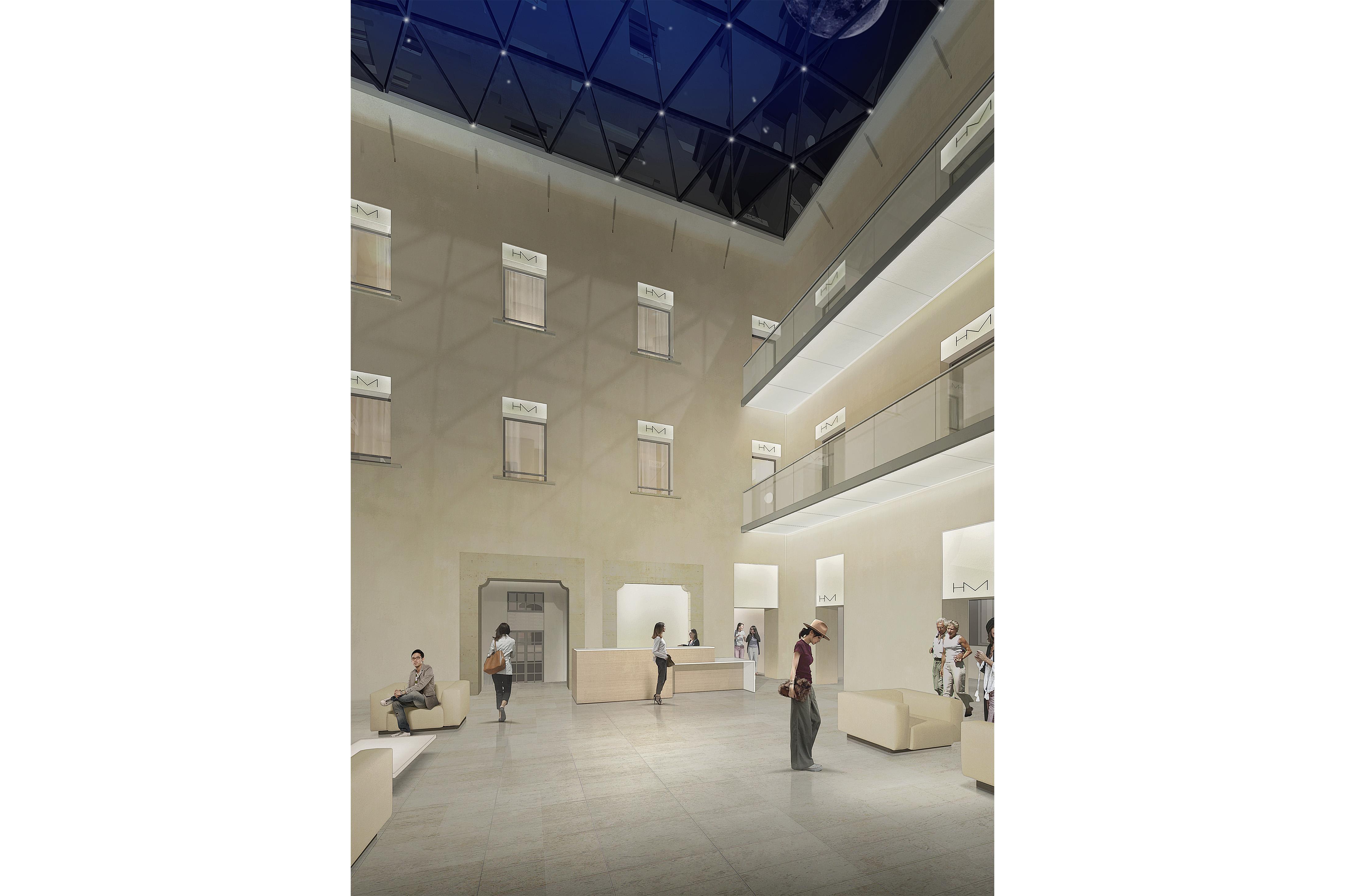 RECONVERSION DE L'HOTEL NIEL ET DE L'HOTEL DES MONNAIES A AVIGNON 2017 - 2020