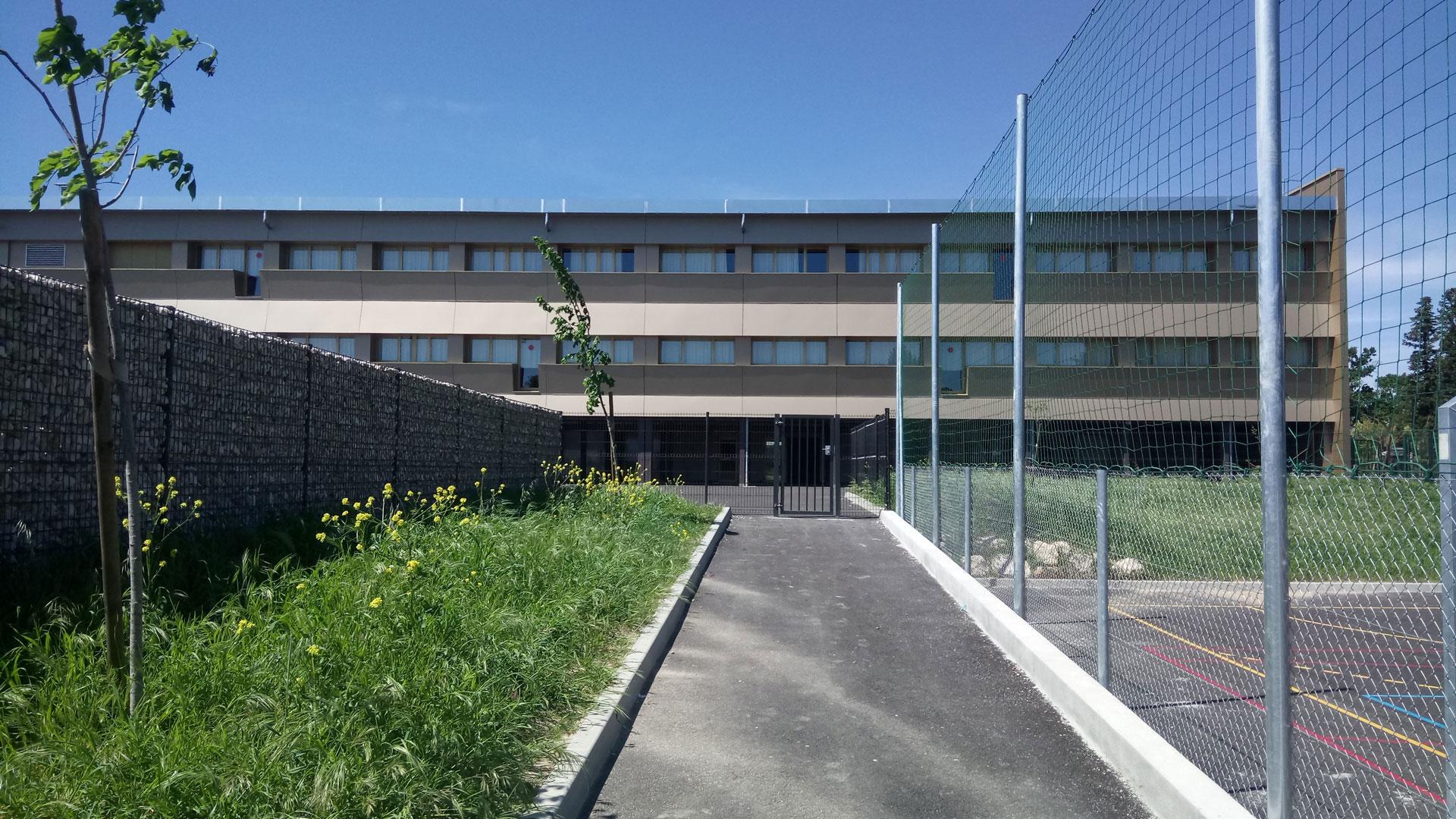 RESTRUCTURATION ET EXTENSION DU COLLEGE JEAN GIONO A ORANGE 2012 - 2017