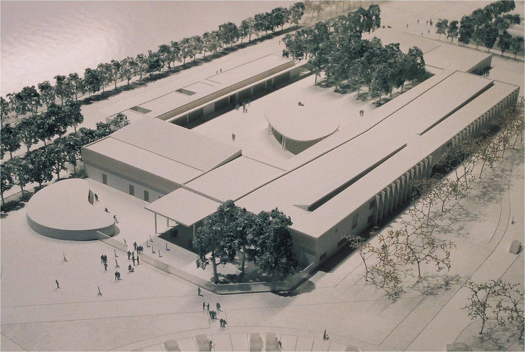 CONSTRUCTION DU DEUXIEME COLLEGE DE L'ISLE-SUR-LA-SORGUE 2004